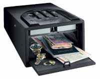 gunvault gvb1000 biometric handgun safe