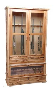 rush creek wood gun cabinet