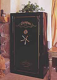Crown gun safe