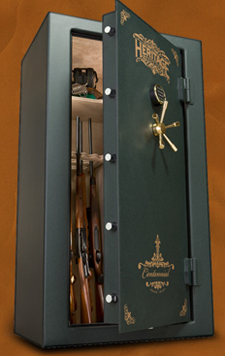 heritage centennial gun safe