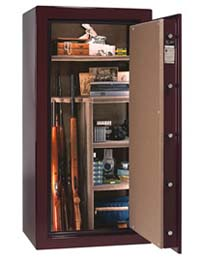 Remington Silver gun safe