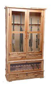 rush creek wood gun cabinet