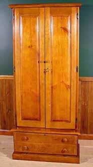 scout wood gun cabinet