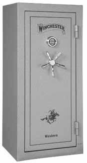 Winchester Western gun safe